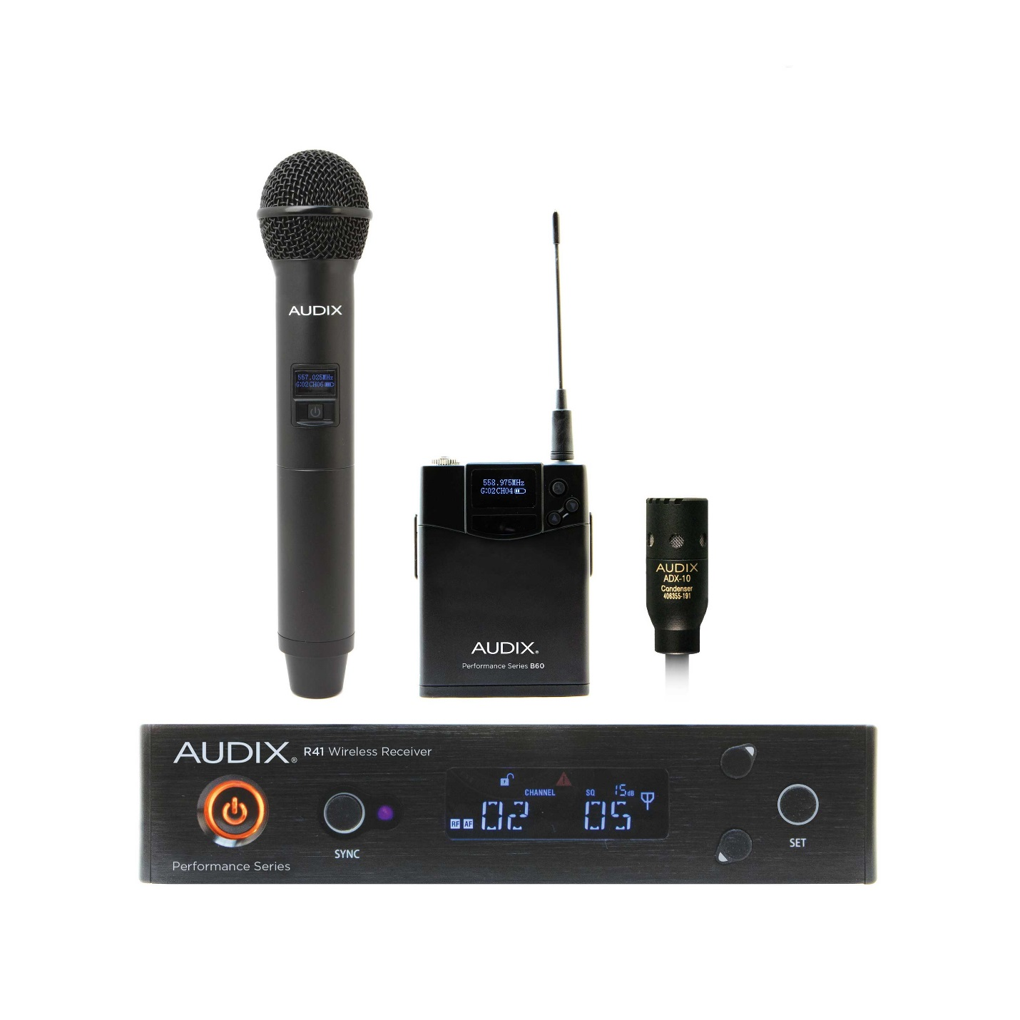 Audix Wireless Mics